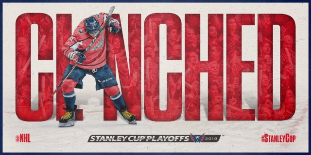 fce1353a045 Washington Capitals to Meet the Columbus Blue Jackets in Round One of the 2018  Stanley Cup Playoffs