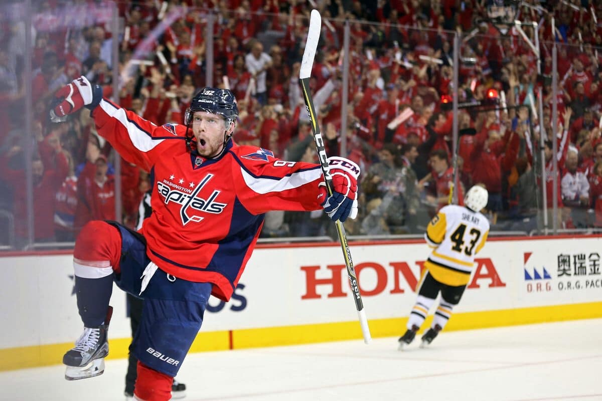 1671fe52055 Washington Capitals win in Overtime against the New York Rangers ...