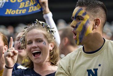 Navy Midshipmen Football fans