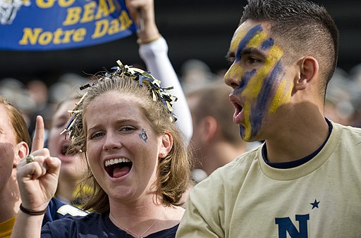 Navy Midshipmen Football fans