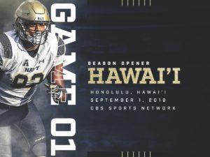 Navy at Hawai'i Game One