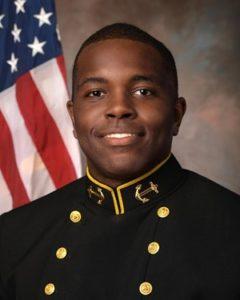 Jarid Ryan, Navy cornerback