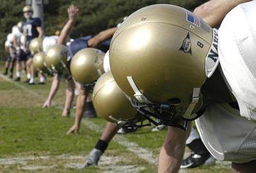 Navy Football practice