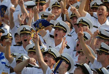 Navy Football fans