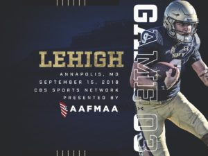 Lehigh at Navy Graphic