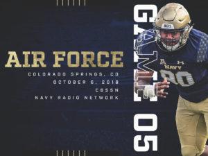 Navy at AF graphic