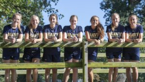 Navy Women's Cross Country Team