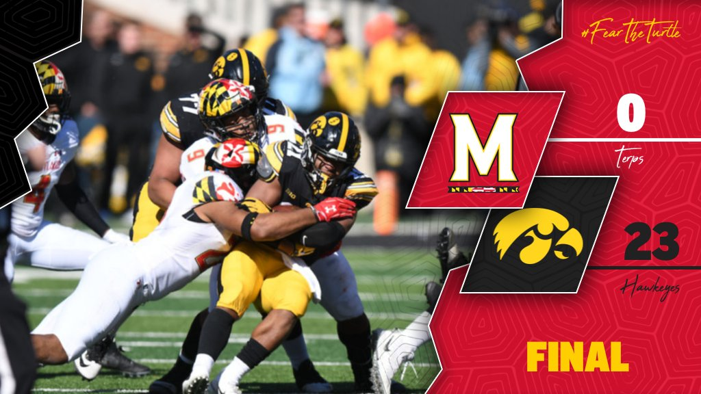 Iowa beat Terps