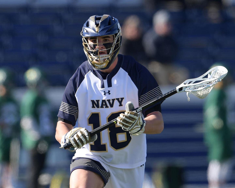 Navy men's lacrosse player.