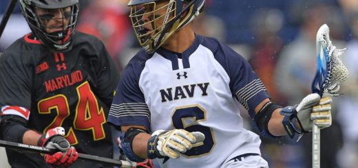 Navy men's lacrosse.