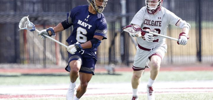 Navy vs. Colgate in men's lacrosse