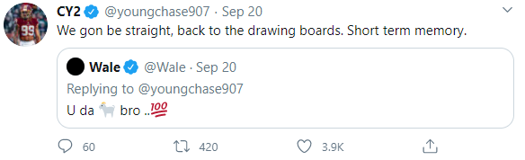 Chase Young Tweet